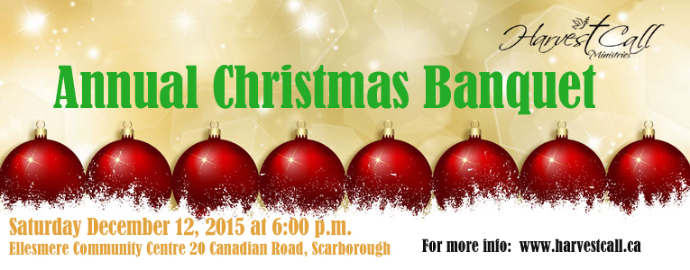 Harvest Call Ministries Christmas Banquet