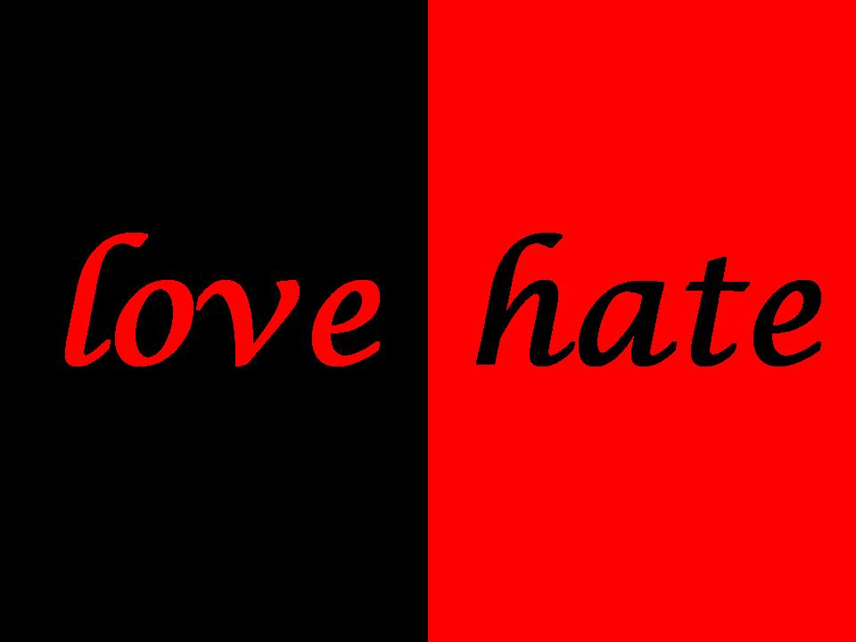 love and hate Love + hate is a modern love story set across the racial divide in a northern town adam has been brought up in a home and community that fosters racial hatred naseema is a girl from the same town, belonging to a new generation of asian youth who have taken up the violence offered to them as a way of reclaiming the past.