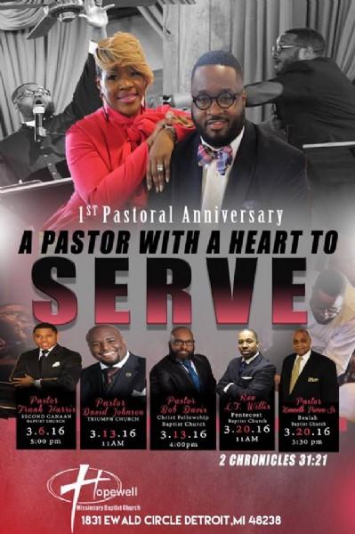Hopewell Baptist Church 1st Pastoral Anniversary