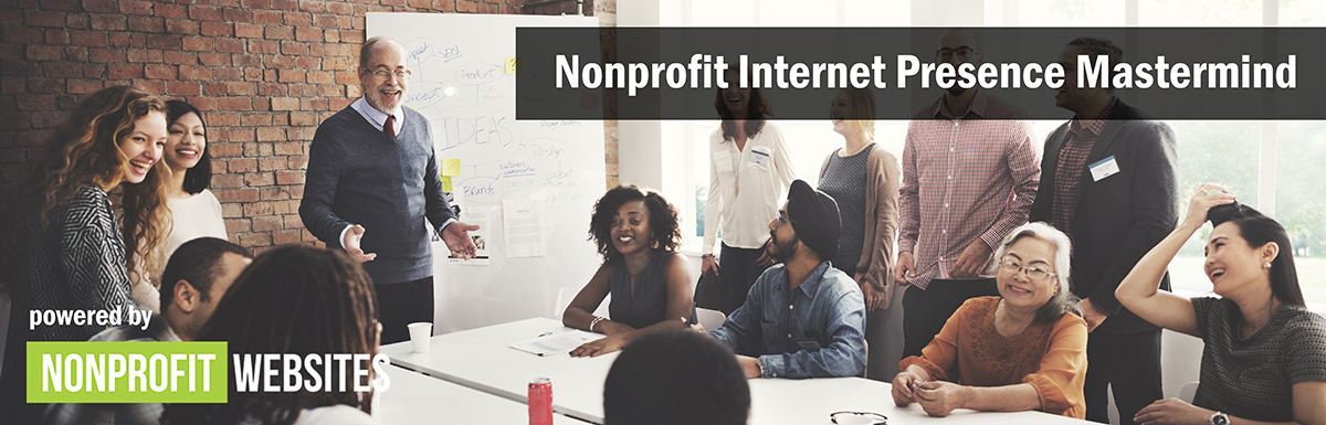 Nonprofit Internet Presence Mastermind (Photos of People Networking)
