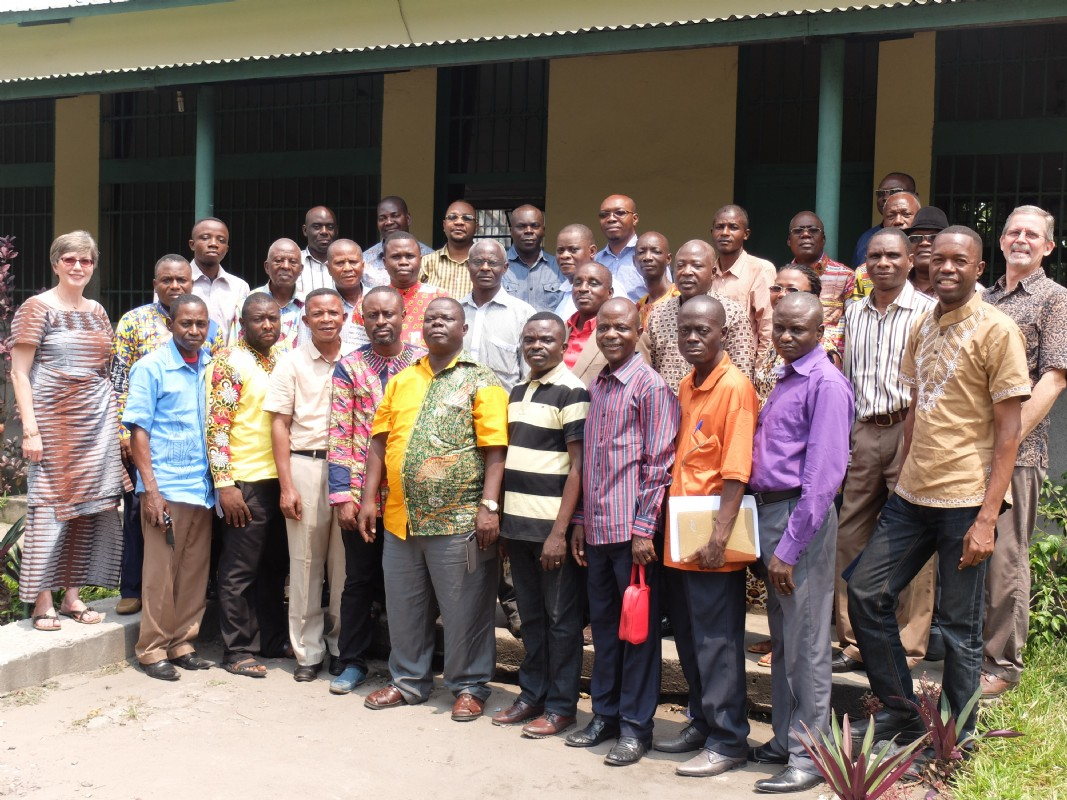 Our extension administrators and local professors who attended the conference.