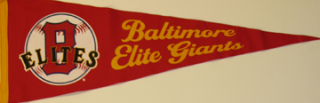 SMNLB - Baltimore Elite Giants Pennant