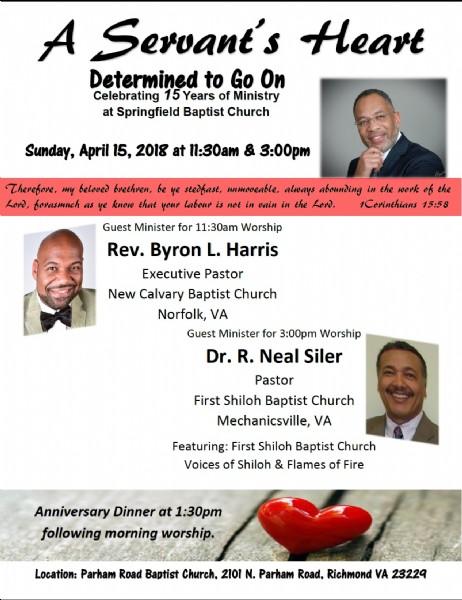 15th pastor s anniversary