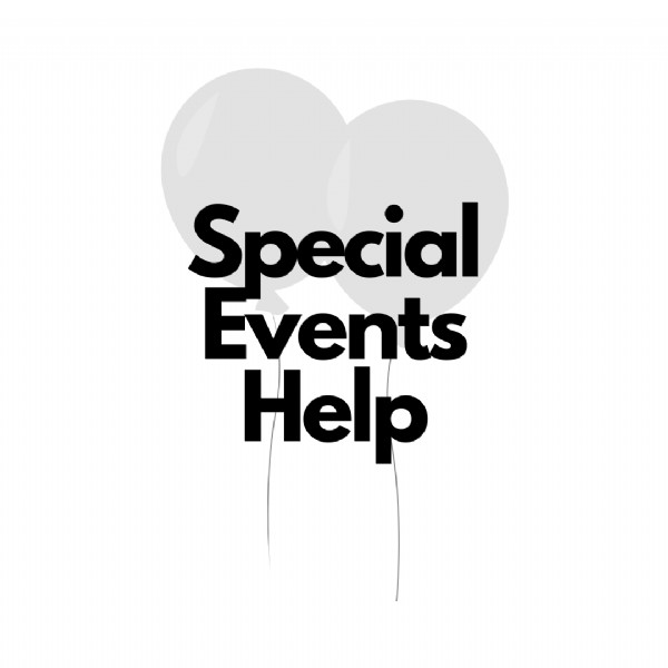 Special Events Help