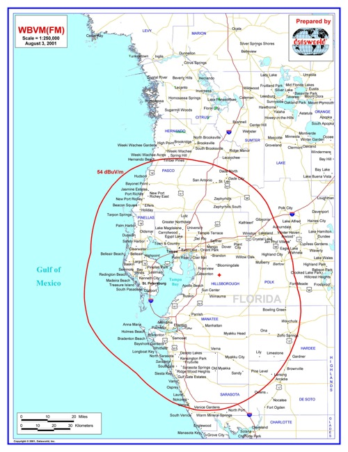 Coverage Map The tampa bay area is a major populated area surrounding tampa bay on the west coast of florida in the united states. coverage map