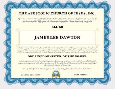 Licensing & Ordination