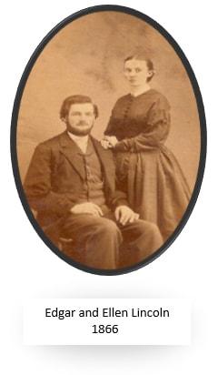 Edgar and Ellen Lincoln